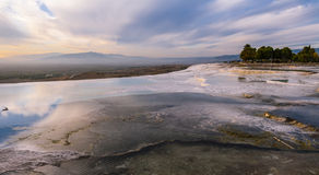 Turkish. Pamukkale. Royalty Free Stock Photo