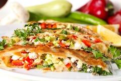 Turkish pancake Royalty Free Stock Images