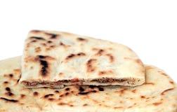 Turkish pancake with ground beef - Gözleme Stock Images