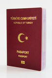 Turkish Passport Royalty Free Stock Images