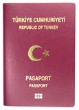 Turkish Passport Stock Photo