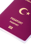 Turkish Passport Stock Photos