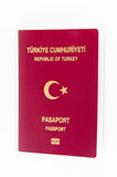 Turkish Passport republic of turkey Royalty Free Stock Photo