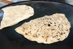 Turkish pastry dish gozleme Stock Image