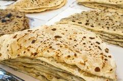Turkish pastry dish gozleme Stock Photos
