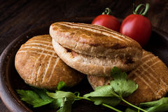 Turkish Pastry / Karakoy Pogaca. Royalty Free Stock Photos