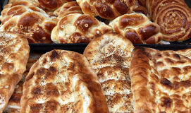 Turkish Pastry and pitta Stock Image