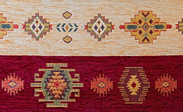 Turkish pattern rug Stock Images
