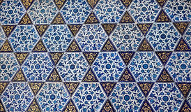 Turkish pattern wallpaper Stock Photo