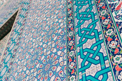 Turkish pattern wallpaper Royalty Free Stock Photography