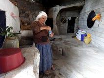 Turkish peasant woman Stock Photo