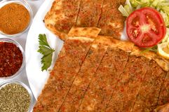 Turkish pide Stock Photos