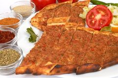 Turkish pide Royalty Free Stock Photography