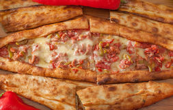 Turkish Pide Royalty Free Stock Images