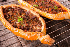 Turkish pide Stock Photography