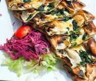 Turkish Pide pizza Stock Images