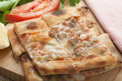 Turkish Pide Slices Royalty Free Stock Images