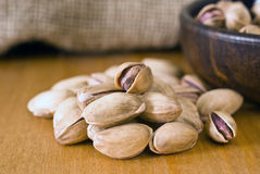 Turkish pistachio nut Stock Images