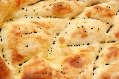 Turkish pita as a background. Traditional Turkish pita is a speciality of Ramadan Royalty Free Stock Photo
