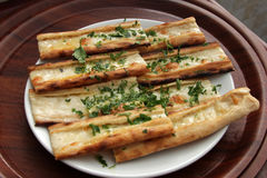 Turkish Pizza Royalty Free Stock Images