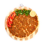 Turkish pizza Stock Image