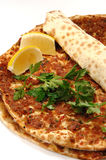 Turkish Pizza Royalty Free Stock Photos
