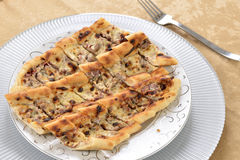 Turkish pizza Royalty Free Stock Photos