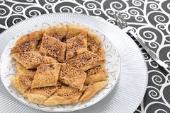 Turkish pizza Royalty Free Stock Photography