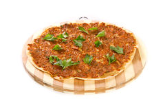 Turkish pizza Stock Images