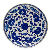 Turkish plate Royalty Free Stock Photography