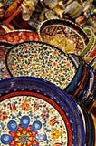 Turkish plates Royalty Free Stock Photos