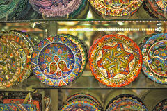 Turkish pottery Stock Photography