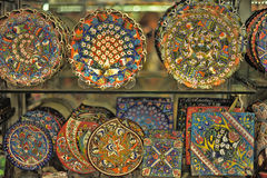Turkish pottery Royalty Free Stock Photos
