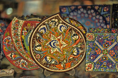 Turkish pottery Royalty Free Stock Photography