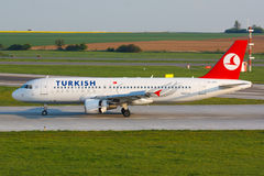 A320 Turkish Royalty Free Stock Photos