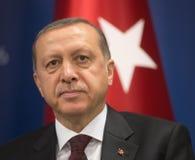 Turkish President Recep Tayyip Erdogan Royalty Free Stock Photography