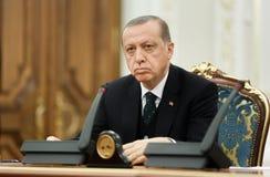 Turkish President Recep Tayyip Erdogan Royalty Free Stock Photos