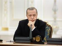 Turkish President Recep Tayyip Erdogan Stock Photo
