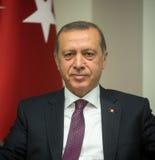 Turkish President Recep Tayyip Erdogan Royalty Free Stock Images