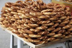 Turkish pretzels Stock Photography