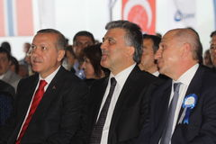 Turkish Prime Minister Stock Photography