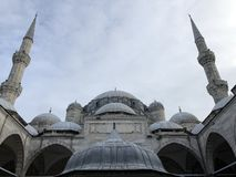 Turkish Prince mosque royalty free stock photos