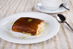 Turkish puding Stock Photo