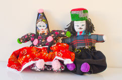 Turkish rag dolls Stock Images