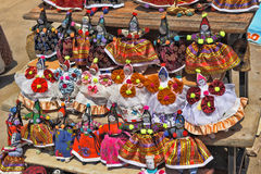 Turkish rag dolls Stock Photo