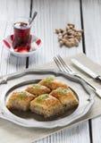 Turkish ramadan dessert baklava Royalty Free Stock Images