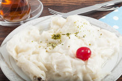 Turkish Ramadan dessert Gullac Stock Images