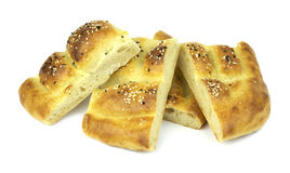 Turkish ramadan pita bread Royalty Free Stock Image