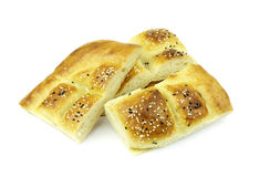 Turkish ramadan pita bread Royalty Free Stock Photos