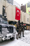 Turkish Rapid Response Force Specialized Team Cevik Kuvvet Royalty Free Stock Photography
